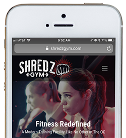 Shredz Gym App